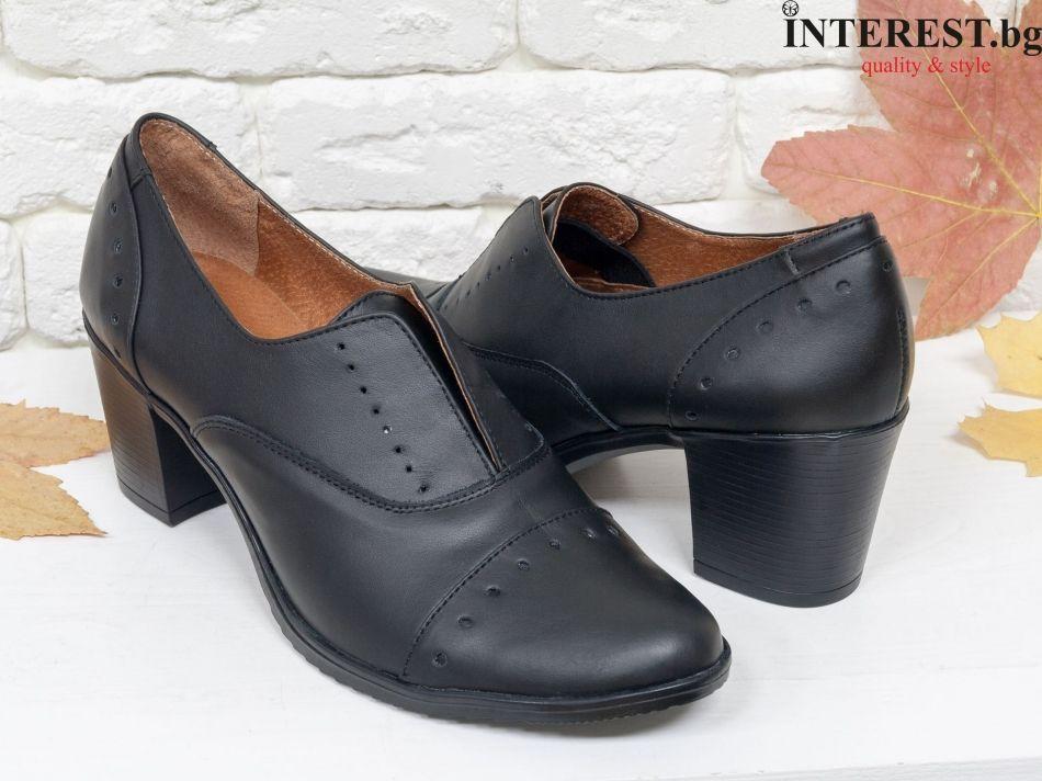0fc0e494b99 Дамски обувки - Нарина - бордо кожа