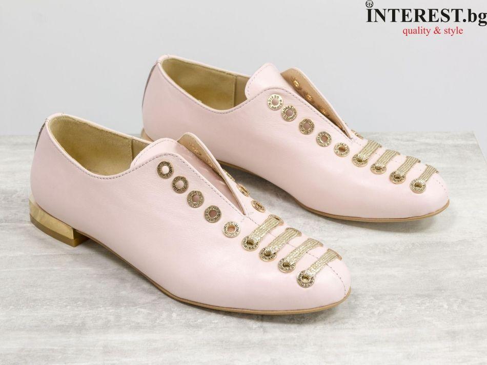e79a7bd2a6d Дамски обувки - Розалия - нежно розово